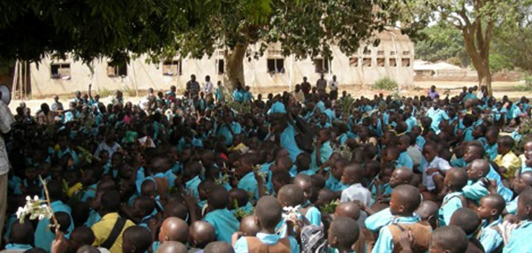 Supporting 1,300-plus children in Northern Uganda