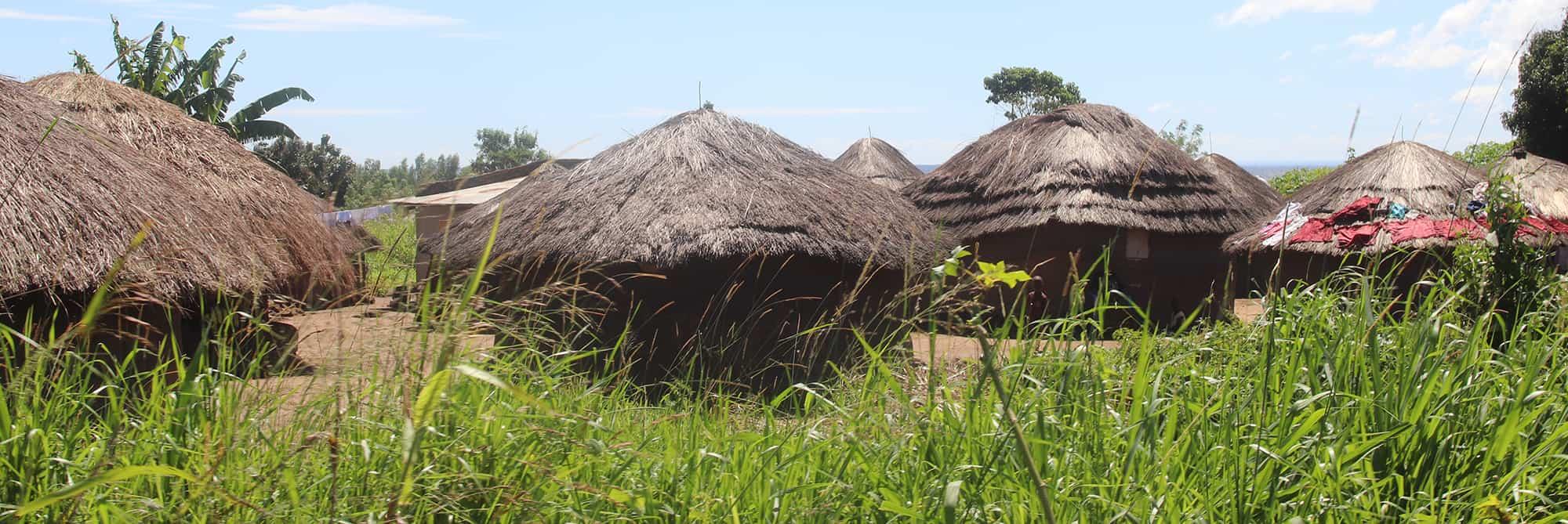 Roadside family compound