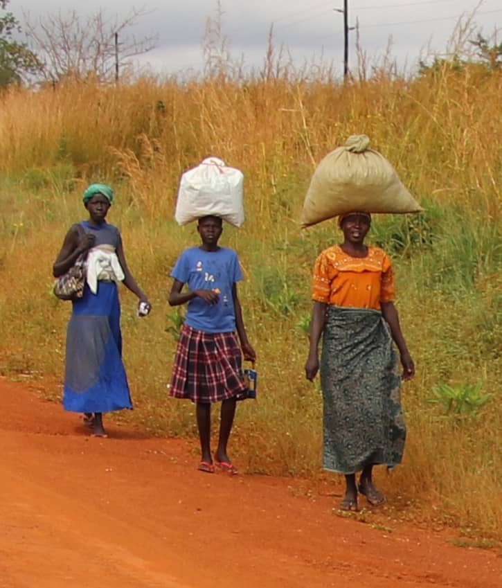 Women with loads